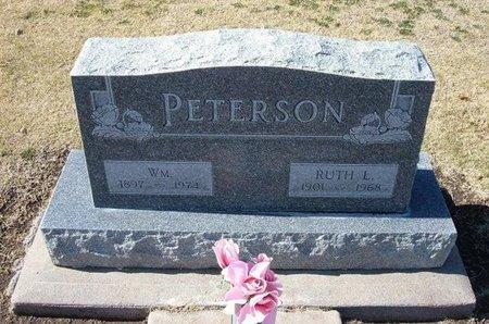 PETERSON, RUTH L - Stevens County, Kansas | RUTH L PETERSON - Kansas Gravestone Photos