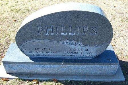 PHILLIPS, EBERT ROYCE - Stevens County, Kansas   EBERT ROYCE PHILLIPS - Kansas Gravestone Photos