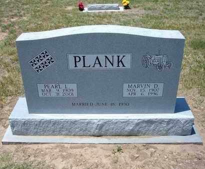 PLANK, PEARL L - Stevens County, Kansas | PEARL L PLANK - Kansas Gravestone Photos