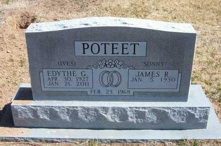 "POTEET, JAMES RICHARD, JR. ""SONNY"" - Stevens County, Kansas | JAMES RICHARD, JR. ""SONNY"" POTEET - Kansas Gravestone Photos"