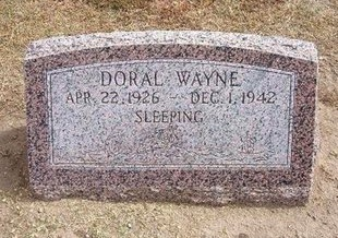 PRINE, DORAL WAYNE - Stevens County, Kansas | DORAL WAYNE PRINE - Kansas Gravestone Photos