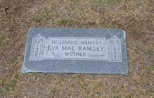 RAMSEY, EVA MAE - Stevens County, Kansas | EVA MAE RAMSEY - Kansas Gravestone Photos