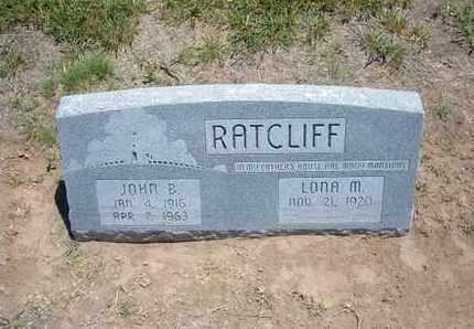 RATCLIFF, JOHN B - Stevens County, Kansas   JOHN B RATCLIFF - Kansas Gravestone Photos