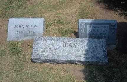 RAY, AVVIE - Stevens County, Kansas   AVVIE RAY - Kansas Gravestone Photos