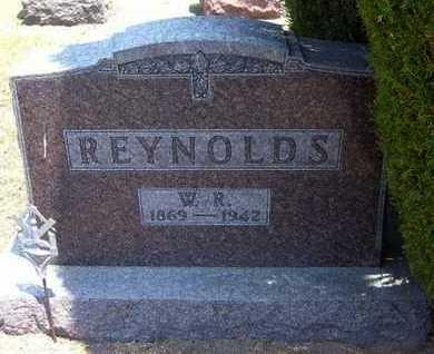 REYNOLDS, W R - Stevens County, Kansas   W R REYNOLDS - Kansas Gravestone Photos