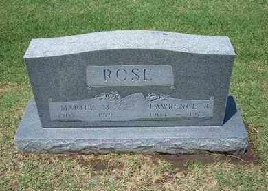 ROSE, LAWRENCE ROLLA - Stevens County, Kansas | LAWRENCE ROLLA ROSE - Kansas Gravestone Photos