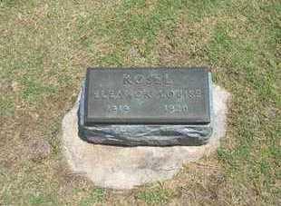 ROSEL, ELEANOR LOUISE - Stevens County, Kansas | ELEANOR LOUISE ROSEL - Kansas Gravestone Photos