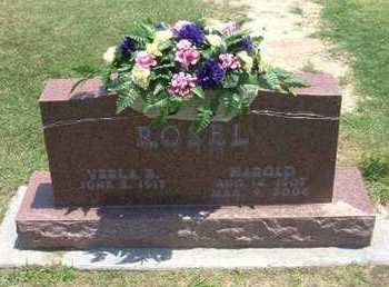 ROSEL, HAROLD - Stevens County, Kansas | HAROLD ROSEL - Kansas Gravestone Photos