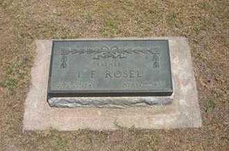 ROSEL, ISAAC FRANKLIN - Stevens County, Kansas   ISAAC FRANKLIN ROSEL - Kansas Gravestone Photos