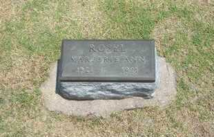 ROSEL, MARJORIE ANN - Stevens County, Kansas   MARJORIE ANN ROSEL - Kansas Gravestone Photos