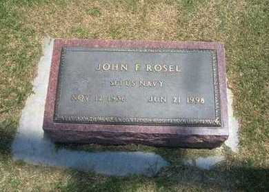 ROSEL, JOHN F   (VETERAN) - Stevens County, Kansas   JOHN F   (VETERAN) ROSEL - Kansas Gravestone Photos
