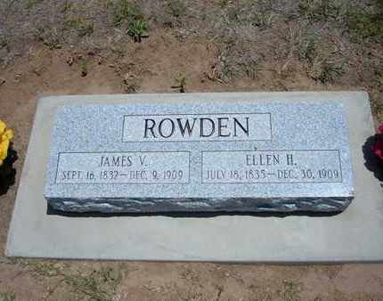 ROWDEN, JAMES V - Stevens County, Kansas | JAMES V ROWDEN - Kansas Gravestone Photos
