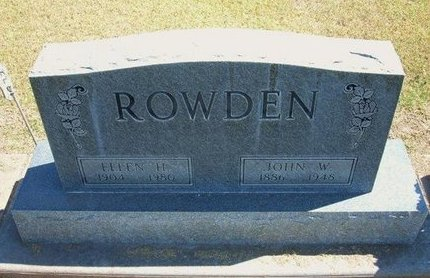 ROWDEN, JOHN WESLEY - Stevens County, Kansas | JOHN WESLEY ROWDEN - Kansas Gravestone Photos