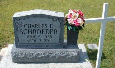 SCHROEDER, CHARLES F   (VETERAN) - Stevens County, Kansas | CHARLES F   (VETERAN) SCHROEDER - Kansas Gravestone Photos