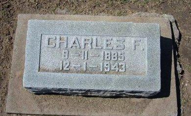 SHAFER, CHARLES F - Stevens County, Kansas   CHARLES F SHAFER - Kansas Gravestone Photos