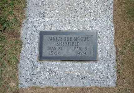 SHEFFIELD, JANICE SUE - Stevens County, Kansas   JANICE SUE SHEFFIELD - Kansas Gravestone Photos