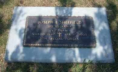 SHEFFIELD, JOSEPH E  (VETERAN VIET) - Stevens County, Kansas   JOSEPH E  (VETERAN VIET) SHEFFIELD - Kansas Gravestone Photos