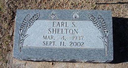 SHELTON, EARL SYLVESTER - Stevens County, Kansas   EARL SYLVESTER SHELTON - Kansas Gravestone Photos