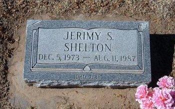 SHELTON, JERIMY S - Stevens County, Kansas   JERIMY S SHELTON - Kansas Gravestone Photos