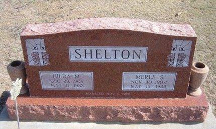 SHELTON, MERLE SYLVESTER - Stevens County, Kansas | MERLE SYLVESTER SHELTON - Kansas Gravestone Photos