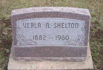 SHELTON, VERLA A - Stevens County, Kansas | VERLA A SHELTON - Kansas Gravestone Photos