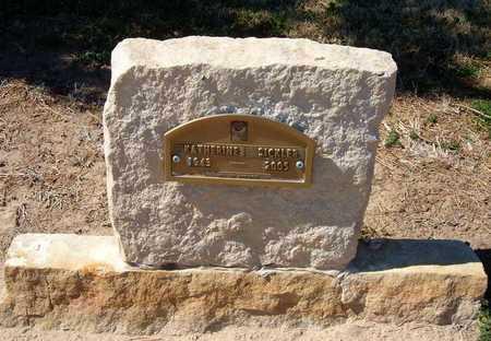 SICKLER, KATHERINE - Stevens County, Kansas   KATHERINE SICKLER - Kansas Gravestone Photos