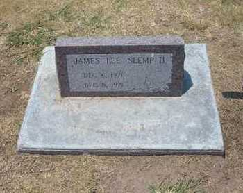 SLEMP, JAMES LEE, II - Stevens County, Kansas | JAMES LEE, II SLEMP - Kansas Gravestone Photos