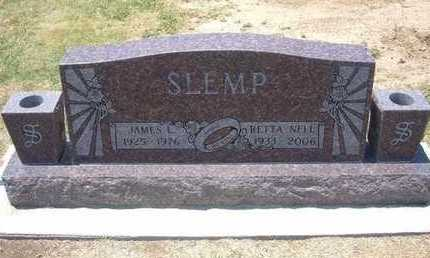 SLEMP, JAMES L - Stevens County, Kansas | JAMES L SLEMP - Kansas Gravestone Photos