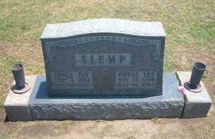 SLEMP, LEOLA FAY - Stevens County, Kansas | LEOLA FAY SLEMP - Kansas Gravestone Photos