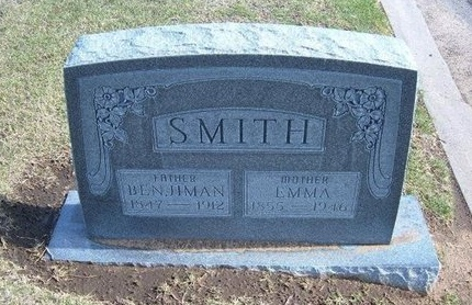 SMITH, BENJIMAN - Stevens County, Kansas | BENJIMAN SMITH - Kansas Gravestone Photos