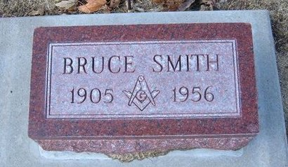 SMITH, BRUCE - Stevens County, Kansas | BRUCE SMITH - Kansas Gravestone Photos