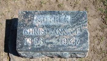 SMITH, CHRISTIANNA C - Stevens County, Kansas | CHRISTIANNA C SMITH - Kansas Gravestone Photos