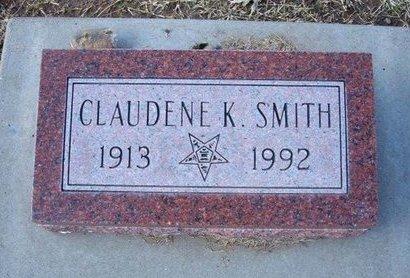 SMITH, CLAUDENE K - Stevens County, Kansas | CLAUDENE K SMITH - Kansas Gravestone Photos