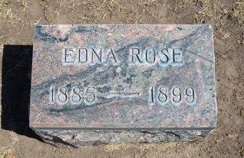 SMITH, EDNA ROSE - Stevens County, Kansas | EDNA ROSE SMITH - Kansas Gravestone Photos