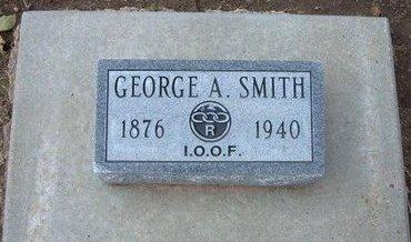 SMITH, GEORGE A - Stevens County, Kansas   GEORGE A SMITH - Kansas Gravestone Photos