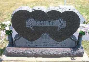 SMITH, HAROLD W - Stevens County, Kansas | HAROLD W SMITH - Kansas Gravestone Photos