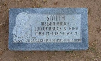 SMITH, MELVIN BRUCE - Stevens County, Kansas | MELVIN BRUCE SMITH - Kansas Gravestone Photos