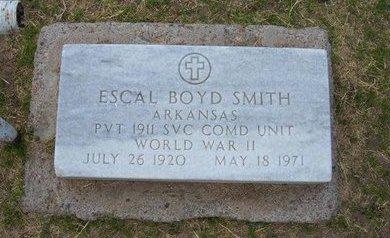 SMITH, ESCAL BOYD   (VETERAN WWII) - Stevens County, Kansas | ESCAL BOYD   (VETERAN WWII) SMITH - Kansas Gravestone Photos