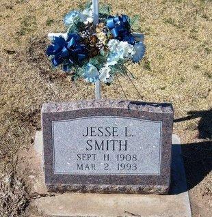 SMITH, JESSE LESTER   (VETERAN WWII) - Stevens County, Kansas | JESSE LESTER   (VETERAN WWII) SMITH - Kansas Gravestone Photos