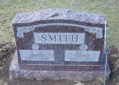 SMITH, IVA L - Stevens County, Kansas | IVA L SMITH - Kansas Gravestone Photos