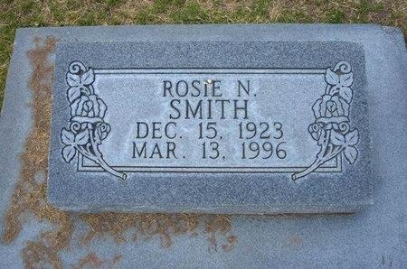 SMITH, ROSIE N - Stevens County, Kansas | ROSIE N SMITH - Kansas Gravestone Photos