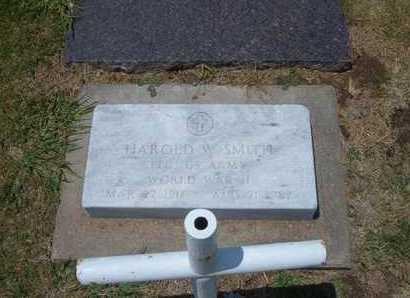SMITH, HAROLD W  (VETERAN WWII) - Stevens County, Kansas | HAROLD W  (VETERAN WWII) SMITH - Kansas Gravestone Photos