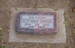 SPANGLER, BETTY MARIE - Stevens County, Kansas | BETTY MARIE SPANGLER - Kansas Gravestone Photos