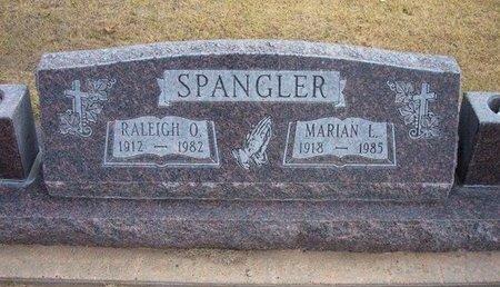 SPANGLER, RALEIGH O - Stevens County, Kansas   RALEIGH O SPANGLER - Kansas Gravestone Photos