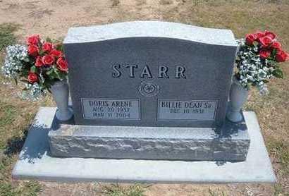 SEABOLT STARR, DORIS ARENE - Stevens County, Kansas   DORIS ARENE SEABOLT STARR - Kansas Gravestone Photos