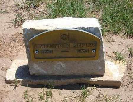 STEVENS, WILLIAM F - Stevens County, Kansas | WILLIAM F STEVENS - Kansas Gravestone Photos