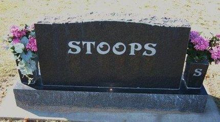 STOOPS, FAMILY STONE - Stevens County, Kansas | FAMILY STONE STOOPS - Kansas Gravestone Photos