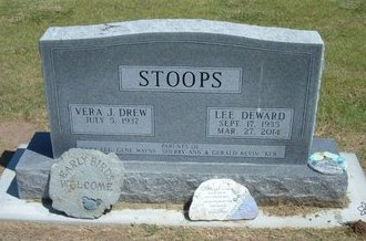 STOOPS, LEE DEWARD - Stevens County, Kansas | LEE DEWARD STOOPS - Kansas Gravestone Photos