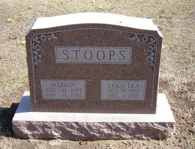 "STOOPS, MARION MANZINGO ""ZING"" - Stevens County, Kansas   MARION MANZINGO ""ZING"" STOOPS - Kansas Gravestone Photos"