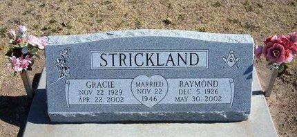 HALL STRICKLAND, GRACIE - Stevens County, Kansas | GRACIE HALL STRICKLAND - Kansas Gravestone Photos